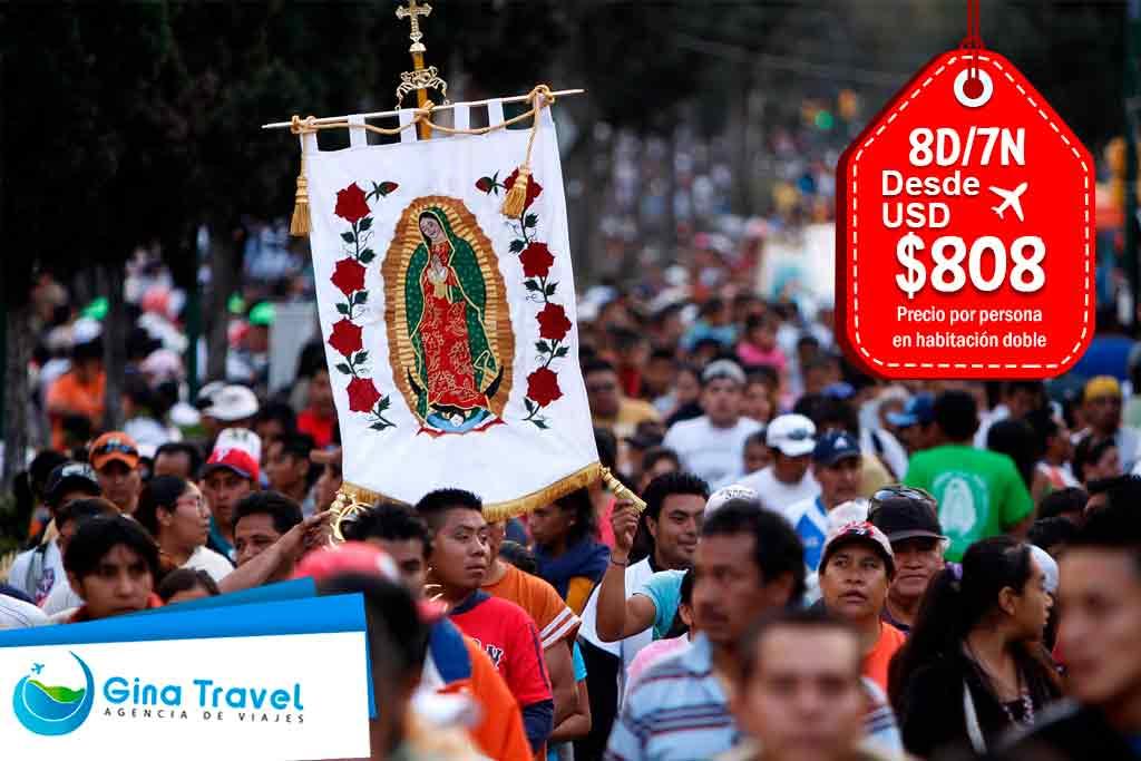 paquetes-a-mexico-peregrinación-virgen-de-guadalupe