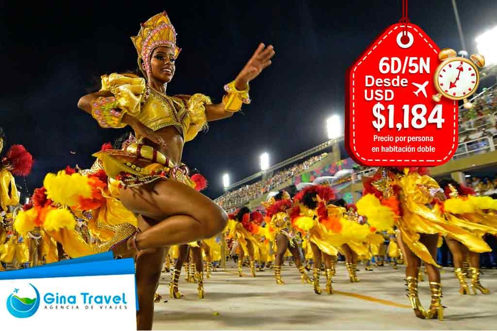 Paquetes  Carnaval de Río (solo servicios)