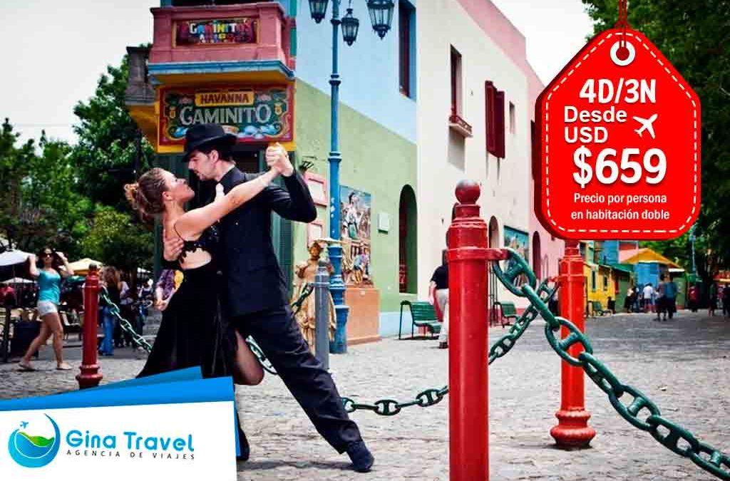 Paquetes Internacionales a Buenos Aires