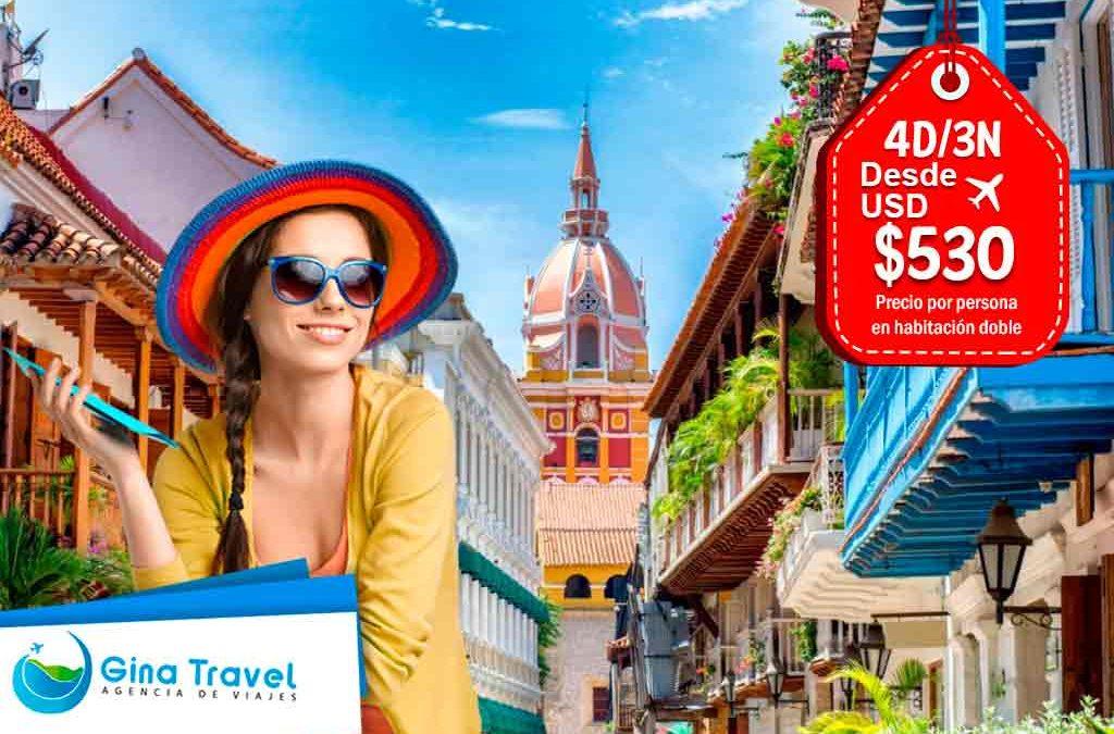 Paquetes Internacionales a Cartagena