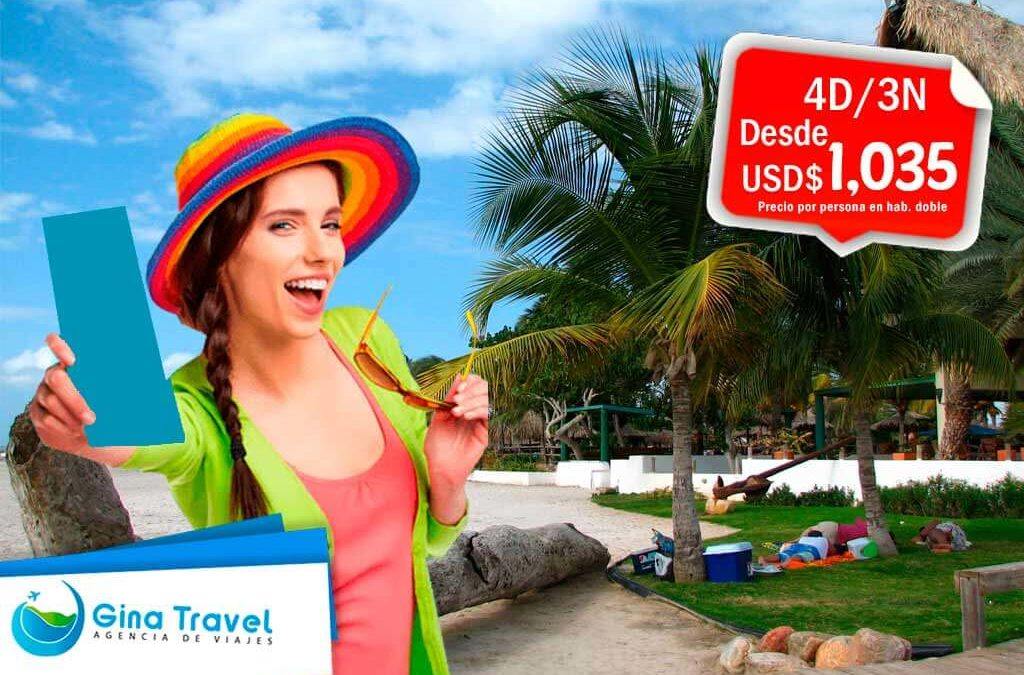 Paquetes Internacionales a Isla Margarita e Isla Coche