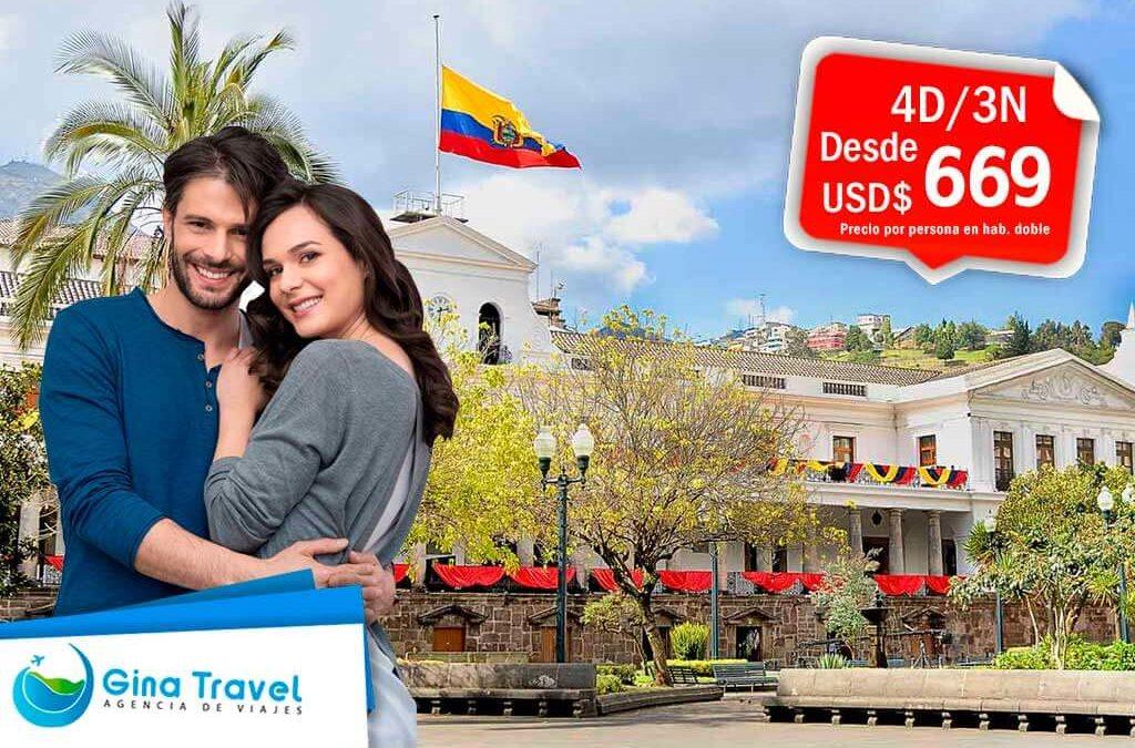 Paquetes Internacionales a Quito