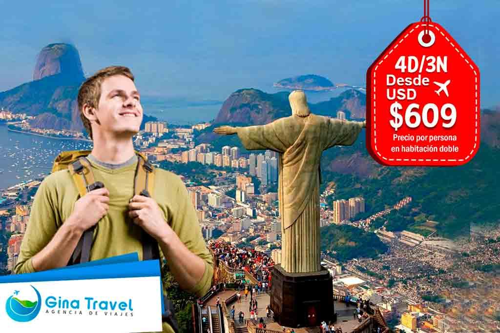 Paquetes Internacionales Río de Janeiro