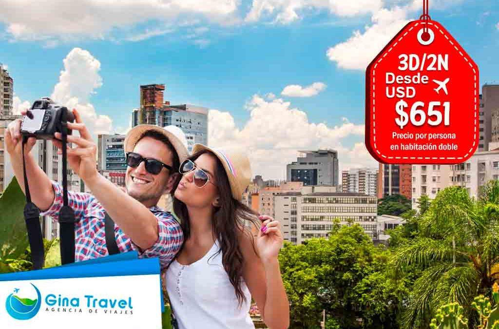 Paquetes Internacionales a Sao Paulo