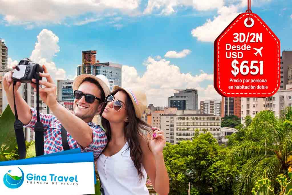 Paquetes Internacionales Sao Paulo
