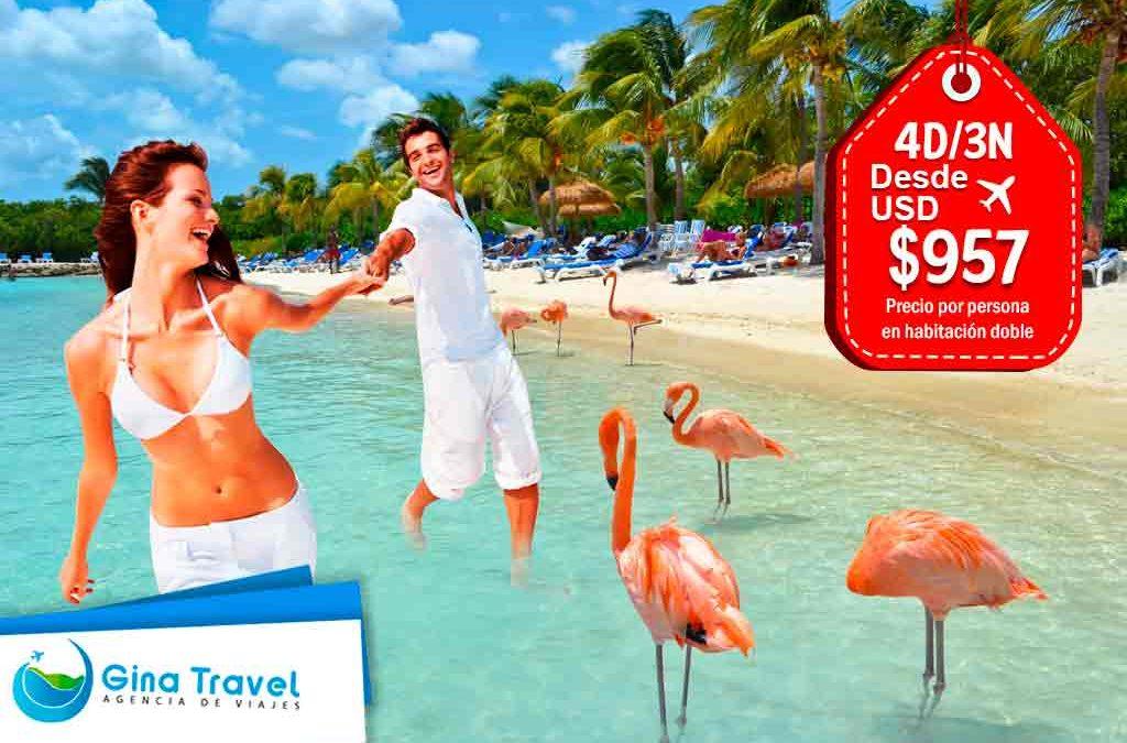 paquetes internacionales a aruba