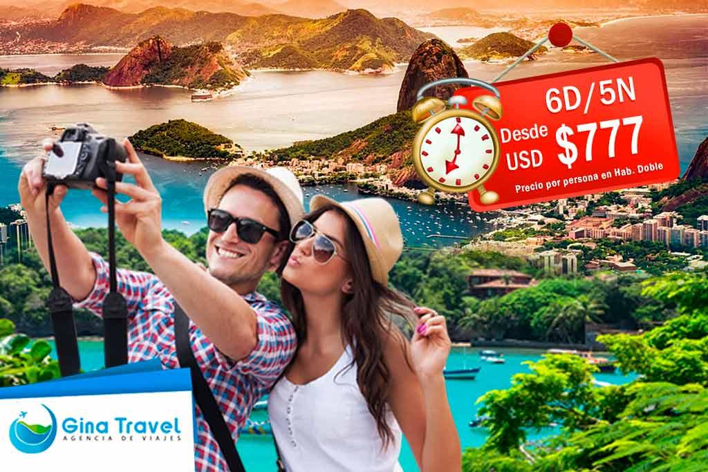 Ofertas de viajes a Búzios y Río