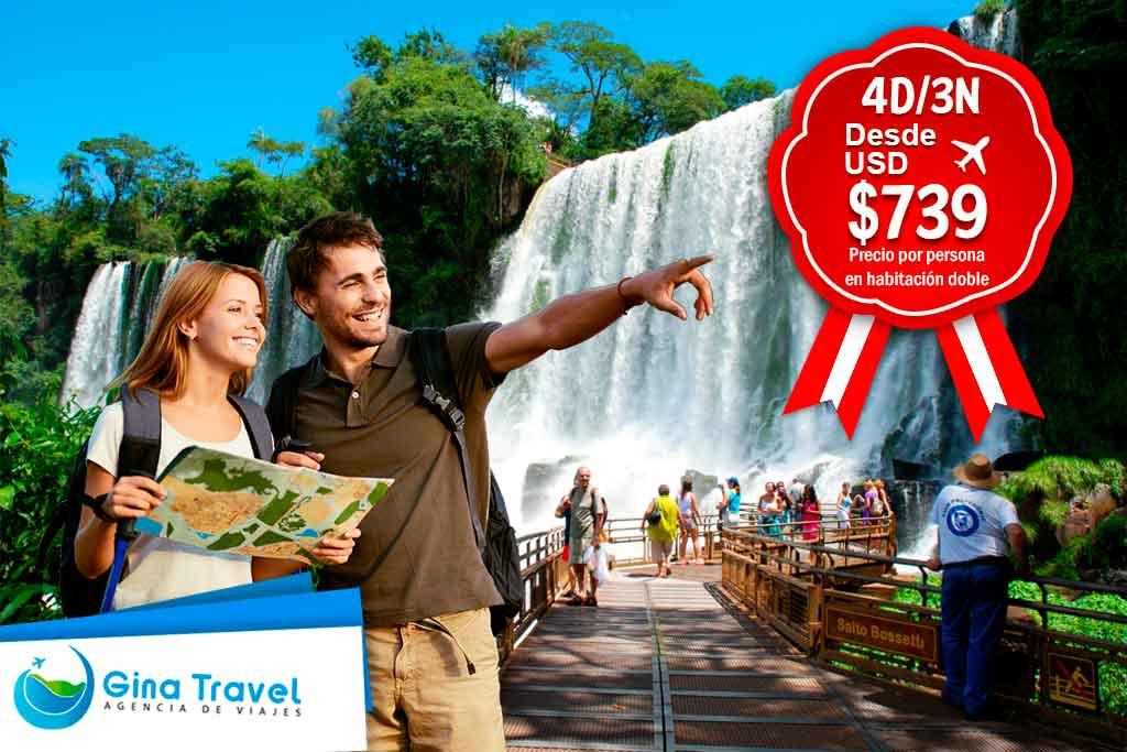 Paquetes Fiestas Patrias a Iguazú