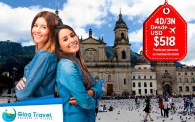 Paquetes Internacionales a Bogotá