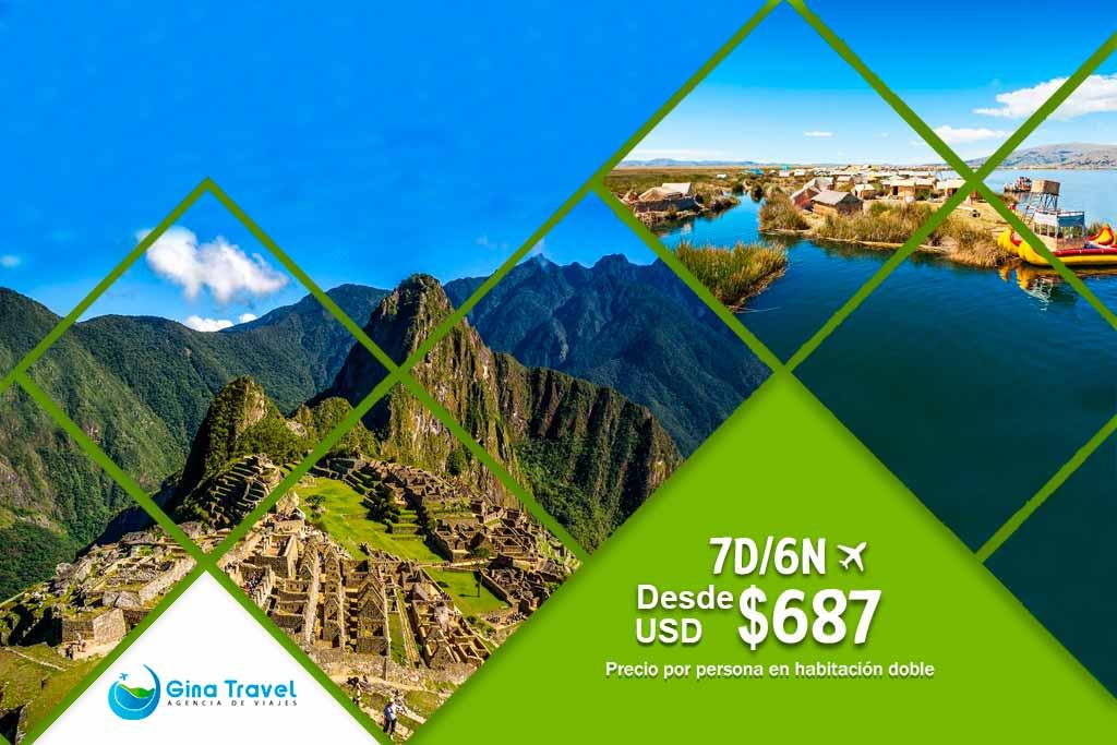 Circuitos en Cusco y Puno