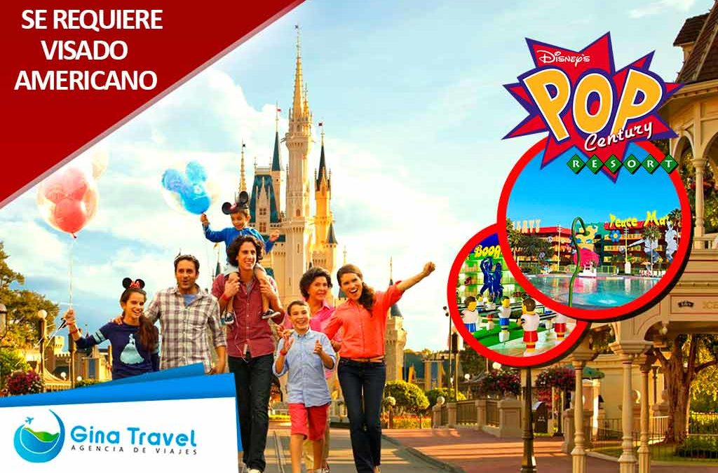 paquetes a disney all pop century resort