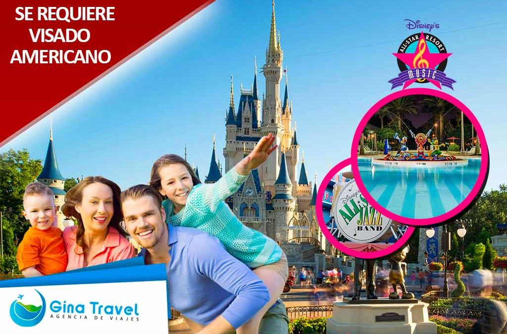 paquetes a disney all star music family suites