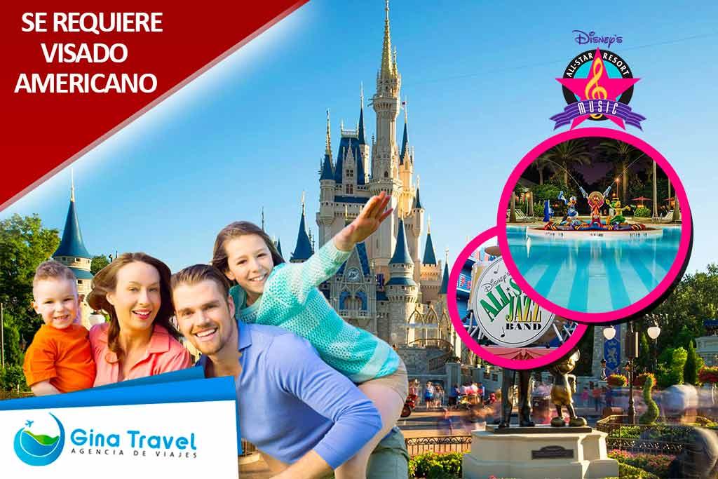 Paquetes a Disney