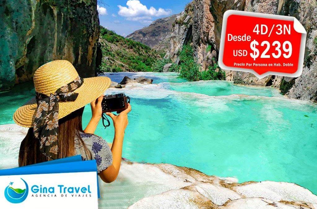 paquetes turisticos a ayacucho y piscinas naturales de millpu