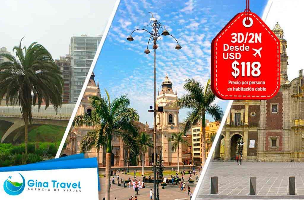 paquetes turisticos a lima moderna