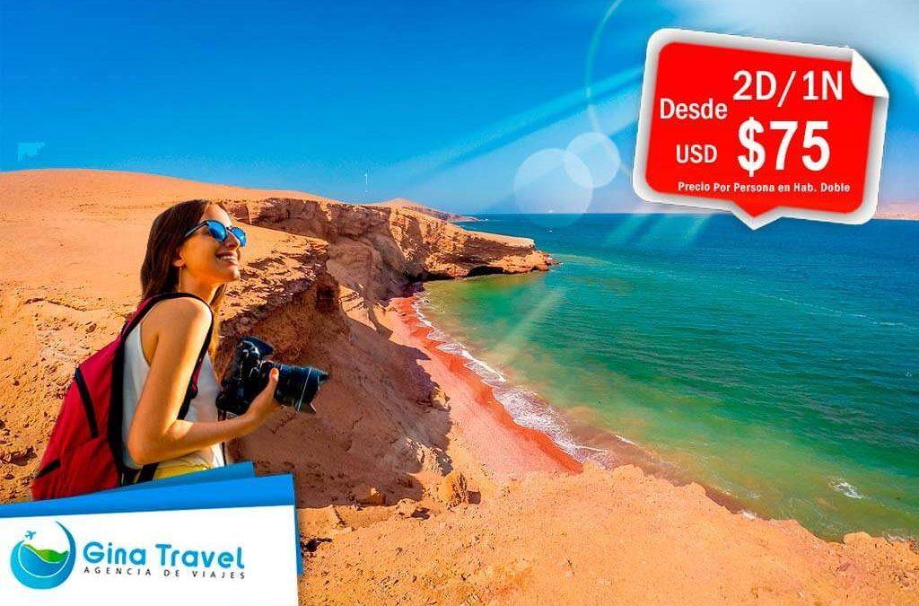 Paquetes Turísticos a Paracas – Bahía de Paracas en Catamarán