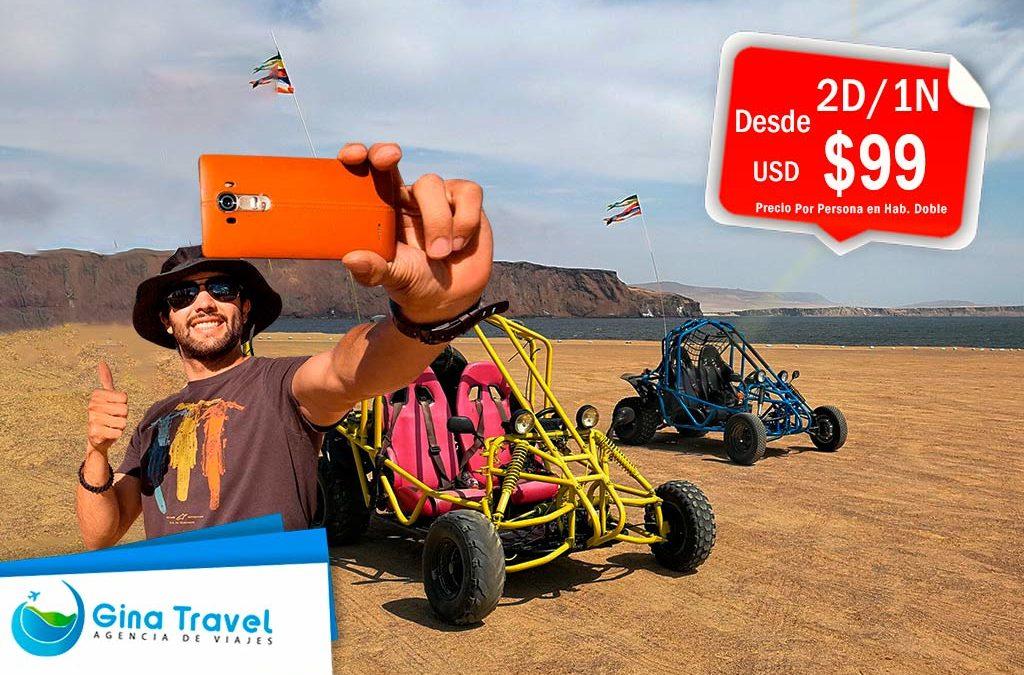 paquetes turisticos a paracas travesia por el desierto