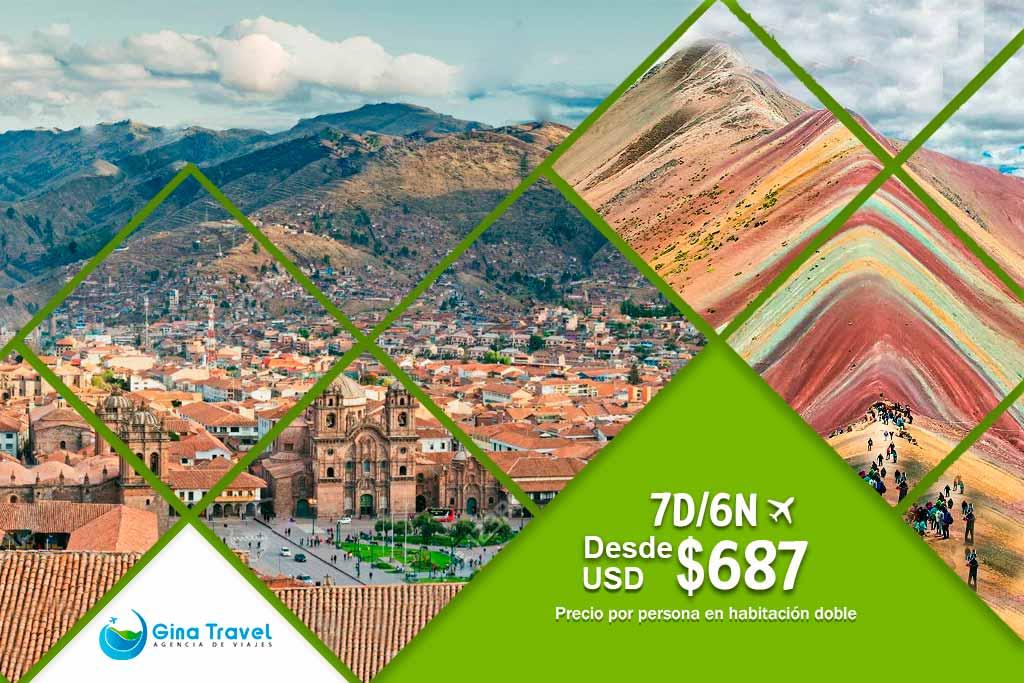 Circuitos en Lima y Cusco con Vinicunca