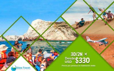 Circuitos Paracas, Ica y Nazca