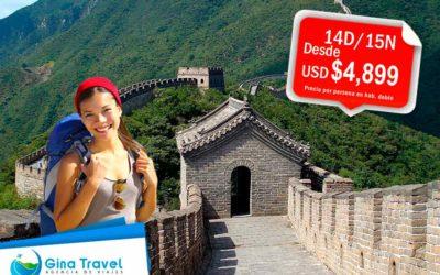 Paquetes a China