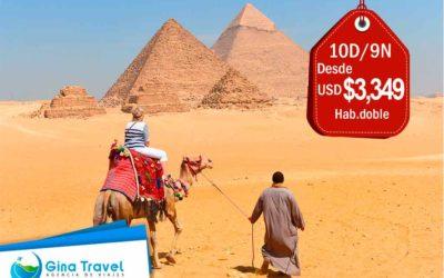 Paquetes a Egipto