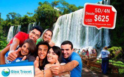 Paquetes Escolares a Iguazú