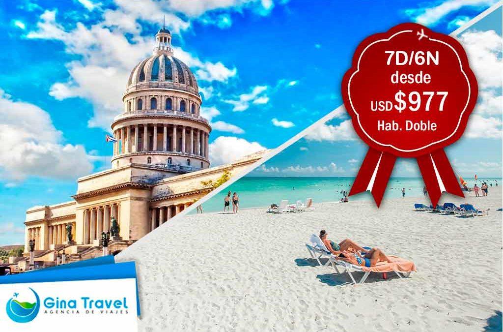 Paquetes Fiestas Patrias a la Habana y Varadero