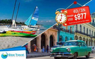 Ofertas de último minuto a la Habana y Varadero