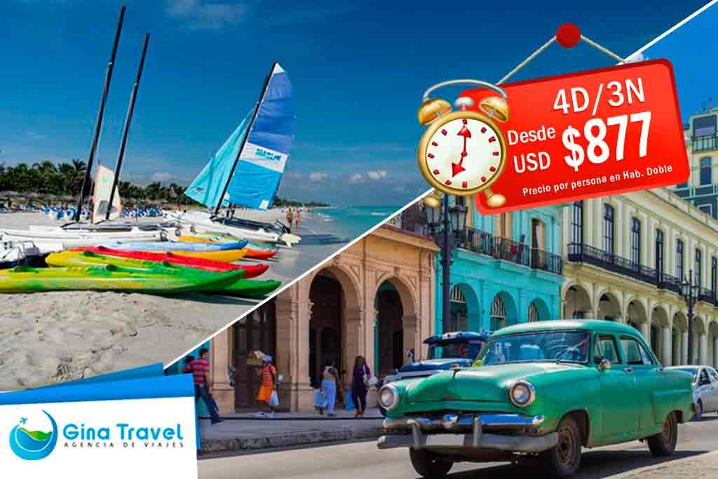 Ofertas a La Habana y Varadero