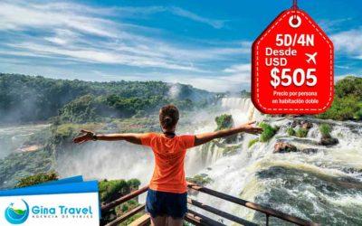 Paquetes Turísticos a Iguazú