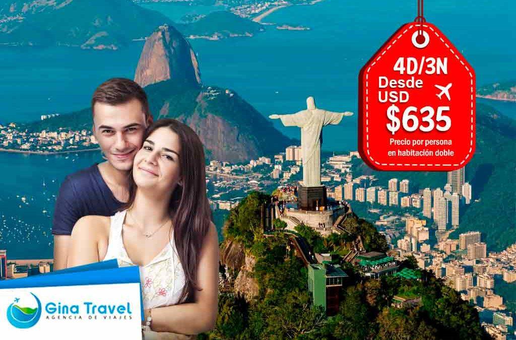 Paquetes Turísticos a Río de Janeiro