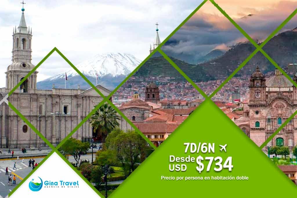 Circuitos en Arequipa y Cusco