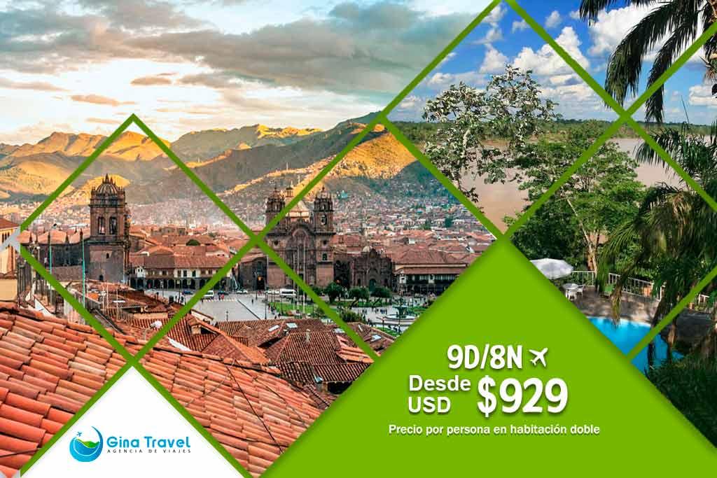 Lima, Cusco y Puerto Maldonado