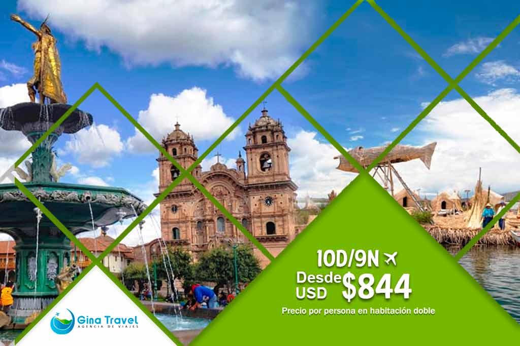 Circuitos en Lima, Cusco y Puno