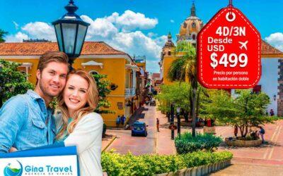 Paquetes Turísticos a Cartagena + Isla del Encanto